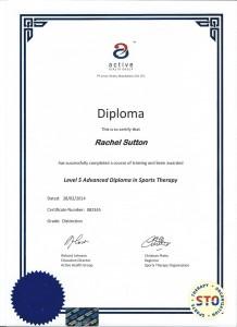 L5 Diploma Certificate