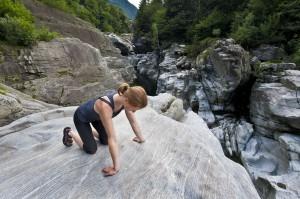 Stretching flexors